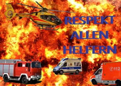 Respekt allen Helfern